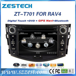 car dvd for Toyota RAV4 car dvd with gps 2 din car multimedia system ZT-T701