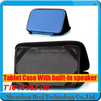 """Universal PU Leather Case with Speaker Sounder for 7"""" Tablet PC PDA MID for Nexus 7"""