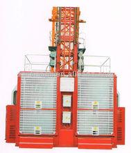 Electric type Double Cage 2T Construction Passenger Hoist