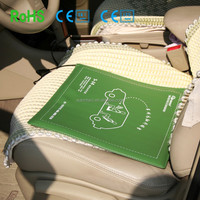 38cm*35cm 12v car seat far infrared electric heated cushion ,car seated heated pad