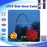 Multi Cores Twisted Side Light Cable Plastic optic fiber cable
