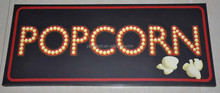 Hot new products for 2015 home decoration popcorn canvas picture led