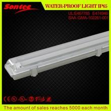 açık IP65 2x36W floresan ışık parçaları