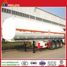 Hot phillaya Tri-Axle Large Capacity diesel gasoline benzine Fuel Tank Truck For Oil Transportation