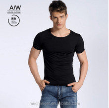 Men's Cotton/ polyester Blank T shirts Customized Clothing Wholesale In China