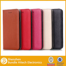 For iPhone 6 Luxury Genuine Real Wallet Leather Case