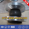 Single sphere flang rubber flexible joint compensator