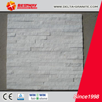 Beautiful natural white culture stone,Chinese marble white culture stone for wall cladding