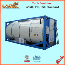 ASME standard 24000 liter 20ft reefer tank container
