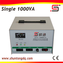 SVC 1000VA auto 220v ac adjustable voltage stabilizer regulator