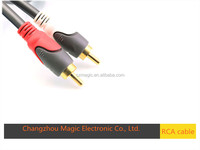 high quality low price rca vedio&audio cable