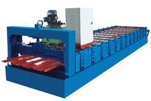 digital embossing machine for roof panel