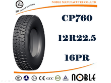 quality TBR tire, truck tire, tire brand names Noble Tyre 12R22.5 16PR CP760