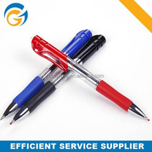 Black Blue Red Plastic Fancy Gel Pen
