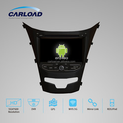 7 inch car with android 2 din car dvd gps for Ssangyong Korando 2014