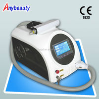 Portable ND Yag Laser tattoo removal machine,eyebrow pigments dark spot removal&laser age spot removal machine