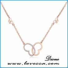 luxurious necklace zinc alloy make with super good quality new arrival necklace in china