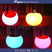 RGB led round table sale/led ball table