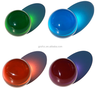 Colored acrylic solid ball for decoration