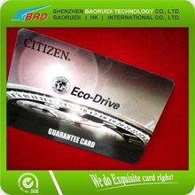 2012 NEWEST Citizen Eco-Drive Plastic Card