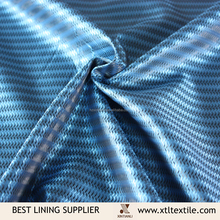 100% polyester two tone dobby taffeta lining for men's suit jacket casual wear