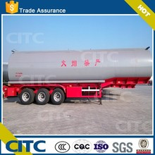 chemical liquid (hydrochloric acid )tank semi trailer with directly factory price
