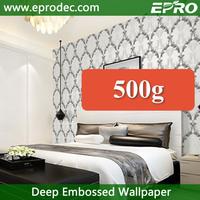 China supplier new design pvc wallpaper for living room