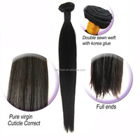 "Wholesale original brazilian human hair malaysia hair weaving straight 26"""