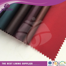 chinese textile wholesale Polyester fabric 190T Taffeta lining Wholesale for garment lining