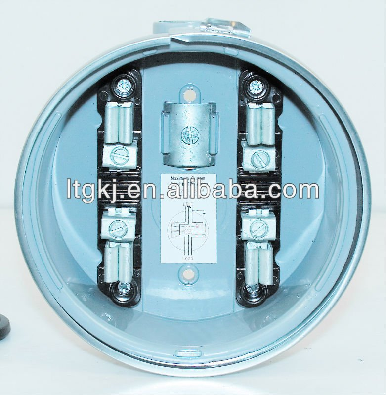 Plug In Watt Hour Meter : Single phase electronic plug watt hour meter kwh