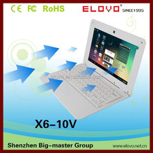 android laptop wholesale 10inch VIA 8850 1G/4G storage cheap chinese brand laptop low price mini laptop