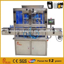 professional manufacturer automatic liquid filling machine TOACF500-4 with CE certificate