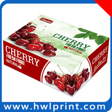 2015 New fashion Custom popular creative fruit plate packaging folded paper boxes