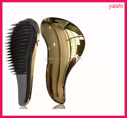 Compact Vent Feature and rubber,Rubber Handle Material detangling hair brush for Valentine's Day in 2016.