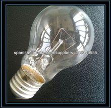 lámpara incandescente 100w E27