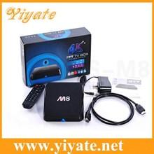 mini android tv Amlogic 8726 M8 S802 quad core 2.0GHz 2GB 8GB XBMC google android tv box quad core game