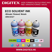 Made by Japan pigment eco solvent Ink for DX5 printers