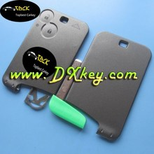 Best price 3 button smart key case WITHOUT blade for key card renault key case renault laguna key card