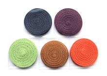 Handmade Round Spiral heat insulation pad coaster