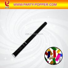 Confetti Shooter Confetti Canon Party Popper with Metallic Foil Rectangle