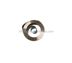 OEM customized high-carbon steel flat spiral power spring