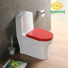 Cearmic Dual Color One piece Toilet Water Closet Blue Toilet 468B