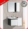 Comercial espejo de vanidad de madera muebles de baño modernos bp-1018