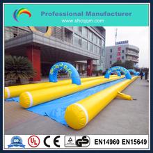 2015 hot sale slip and slide inflatable/inflatable city slide