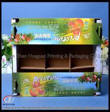 custom fresh apple fruit 5 layers corrugated cardboard packaging box