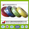 colored Wantong china copper cable products/pvc wire cable/single core electric wire