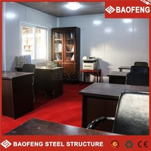 modular galvanized fireproof prefabricated container store