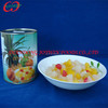 Cheap price canned fruit cocktail in light syrup, cheap canned fruit factory