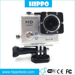 Multi function mini monopod action camera helmet HD 1080p sj5000 cam 30fps action camera