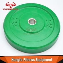 fitness colored Olympic weight plate